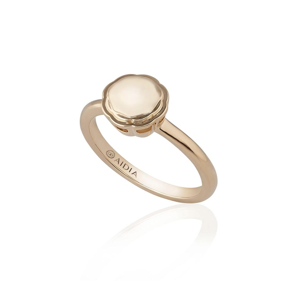 18K Rose Gold Large Flora Ring
