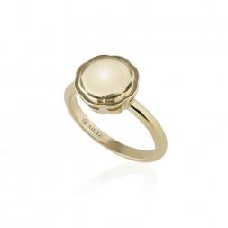 18K Yellow Gold Flora Ring