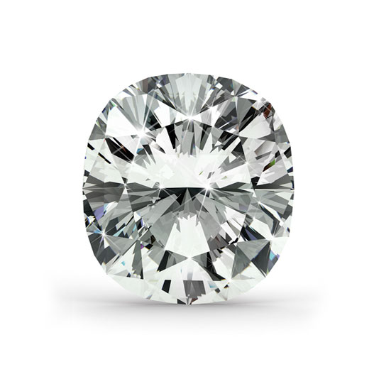 Cushion 1.55 Ct. G VS1