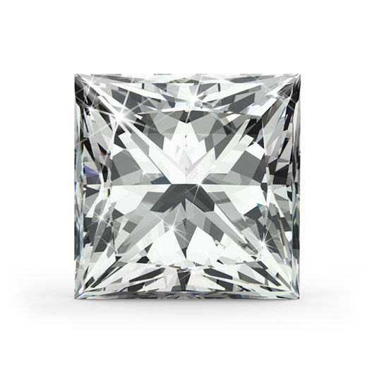 Princess 0.33 Ct. K SI1