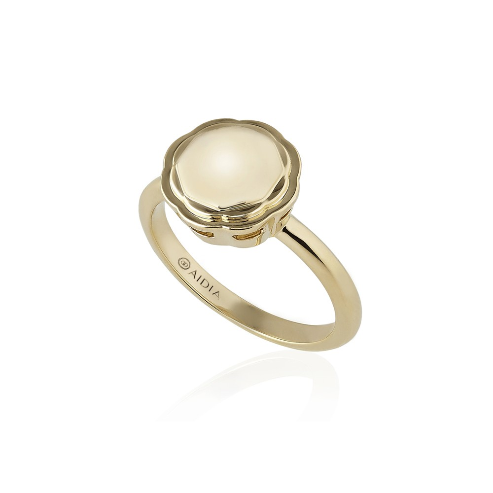 18K Yellow Gold Flora Ring