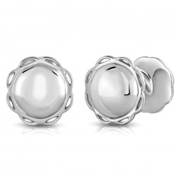 AIDIA Signature Sterling Silver Cufflinks
