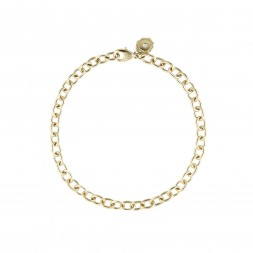 AIDIA Signature 7'' 18K Yellow Gold Charm Bracelet